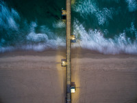 Slow Shutter of 5 seconds image taken with the Inspire 1