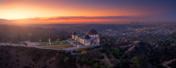 Griffith Observatory, multiple images Inspire 1